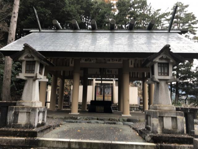小河内神社の本殿