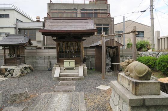 京都府若宮八幡宮社(陶器神社)の本殿