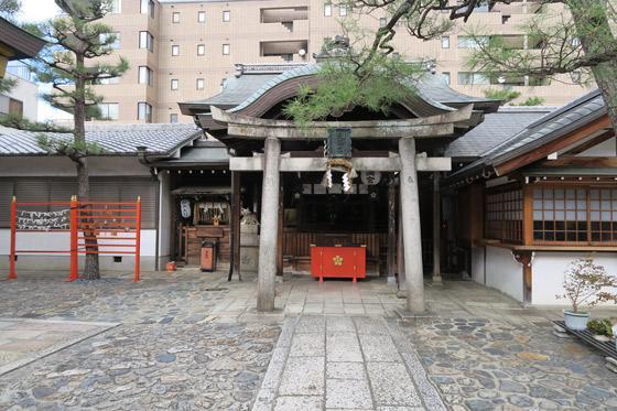 京都府京都ゑびす神社の鳥居