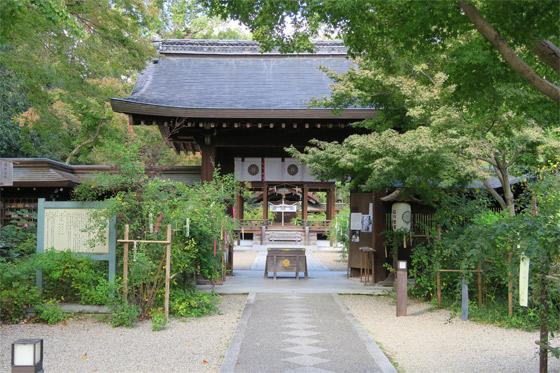 梨木神社の本殿