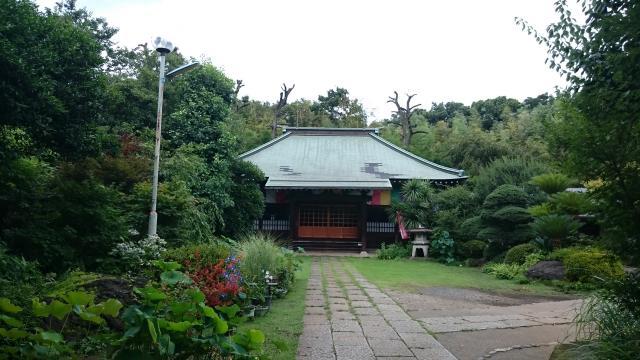 埼玉県興禅院の本殿