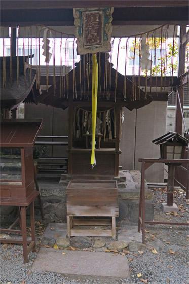 京都府橋姫神社の末社