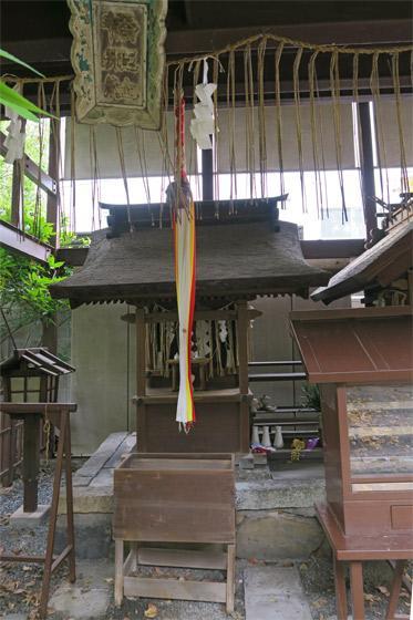 京都府橋姫神社の本殿