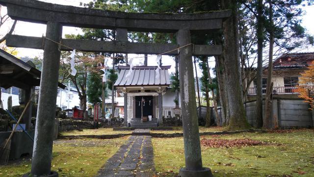 磐裂神社の鳥居