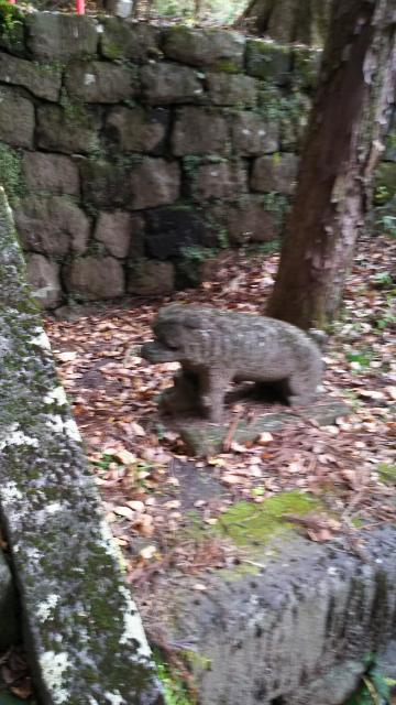青龍神社の狛犬