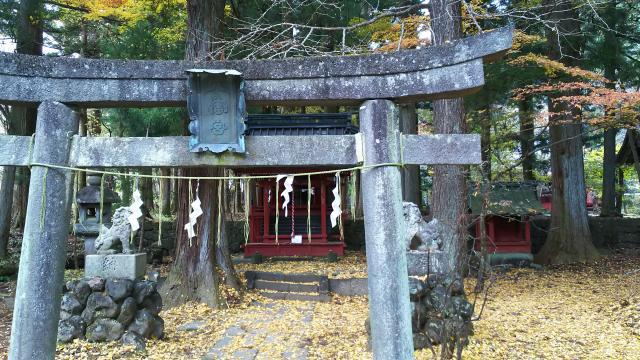 飛石八幡神社の鳥居