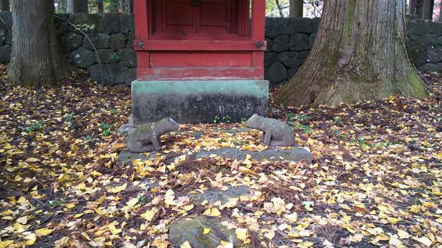 飛石八幡神社の狛犬