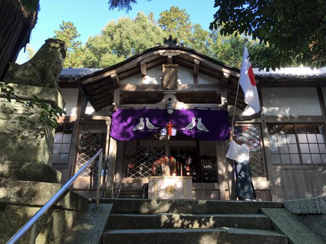 奈良県八幡神社の本殿