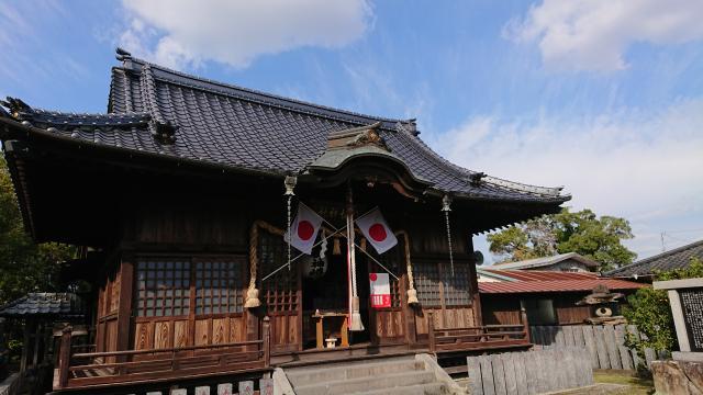 佐賀県八坂神社の本殿