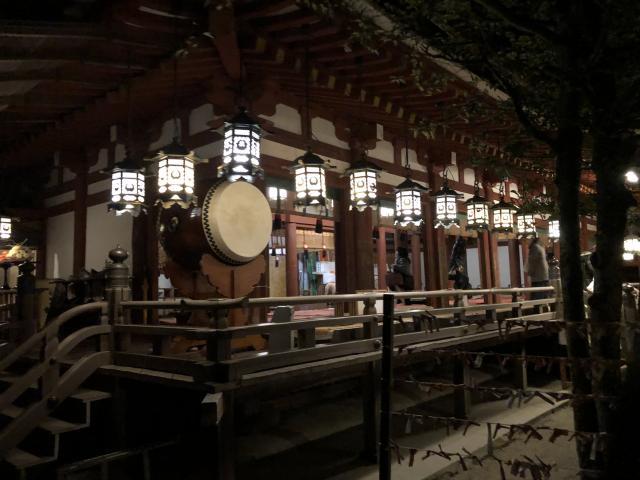 奈良県石上神宮の本殿