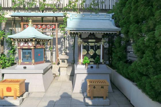 三囲神社(東京都銀座駅) - 本殿・本堂の写真