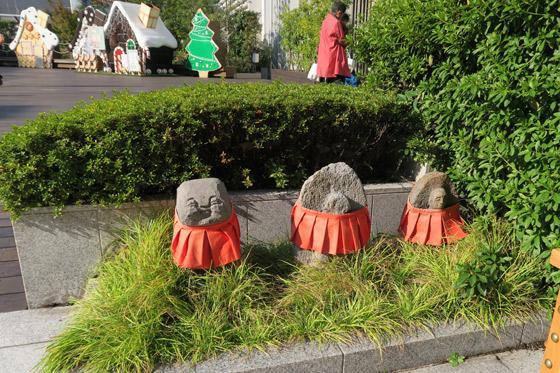 三囲神社(東京都銀座駅) - 地蔵の写真