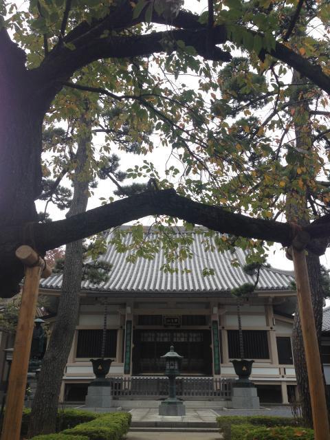 東京都荘厳寺の本殿