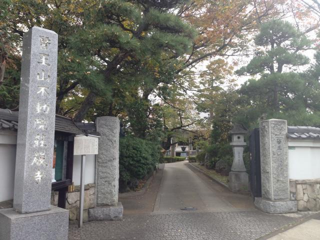 東京都荘厳寺の山門