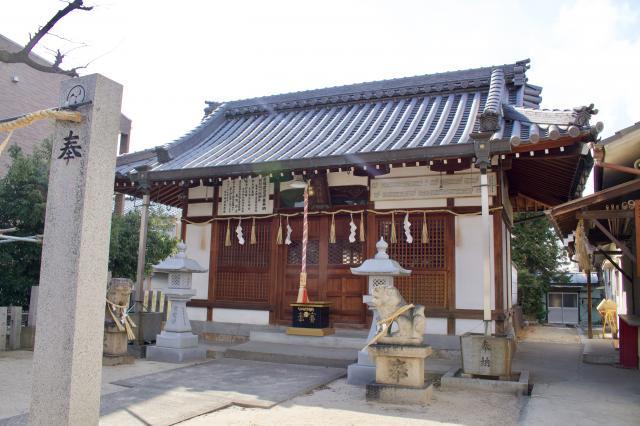 大阪府太川神社の本殿