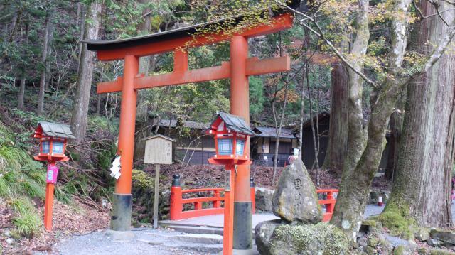 京都府貴船神社の本殿