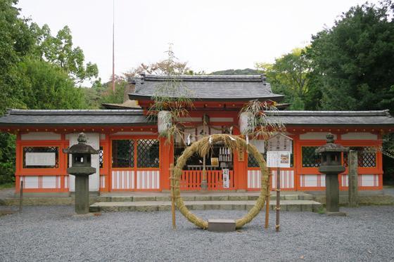 京都府宇治神社の本殿