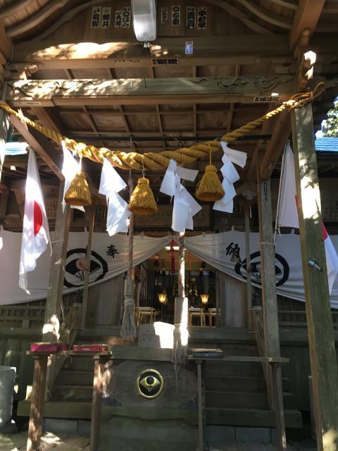 茨城県東金砂神社の本殿