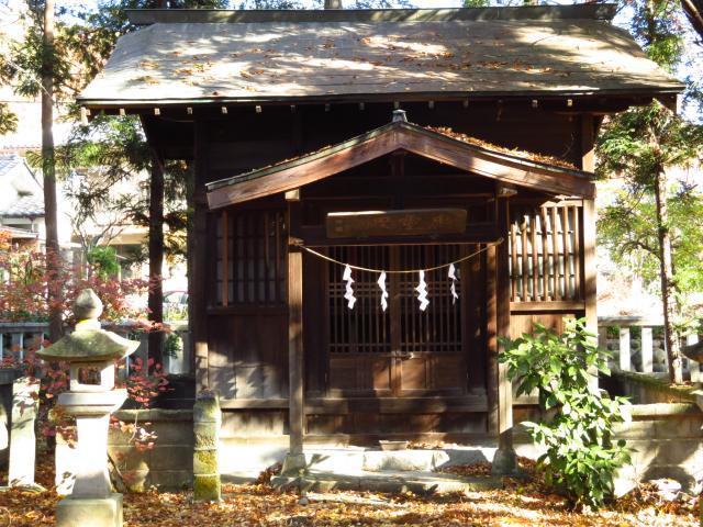 山梨県大井俣窪八幡神社の本殿