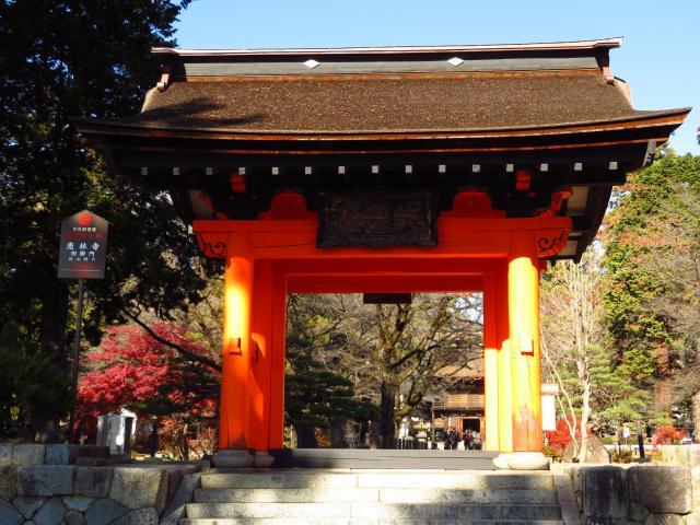 山梨県恵林寺の本殿