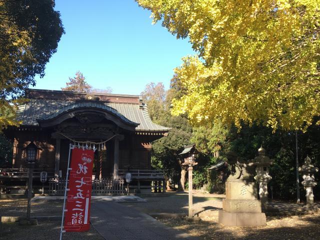 千葉県島穴神社の写真
