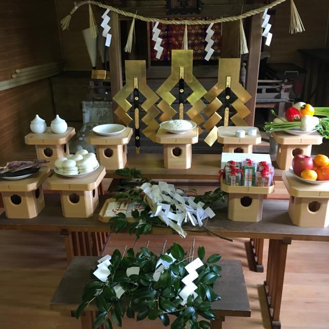 飯部磐座神社のお祭り
