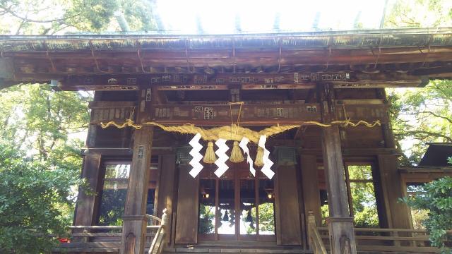 神奈川県報徳二宮神社の本殿