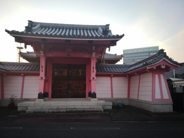 即得寺の山門