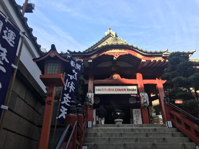 東京都徳大寺(摩利支天)の山門