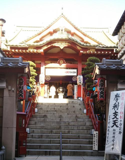 東京都徳大寺(摩利支天)の本殿