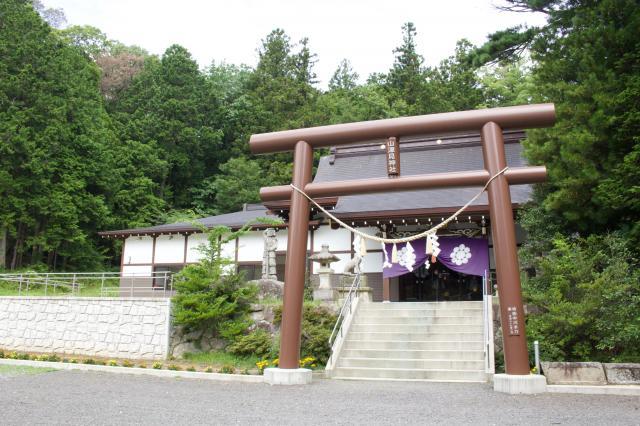 福島県山津見神社の本殿