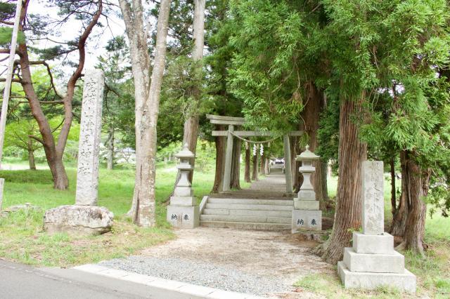 福島県山津見神社の写真