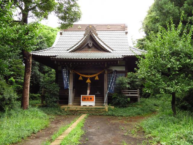大庭神社の本殿