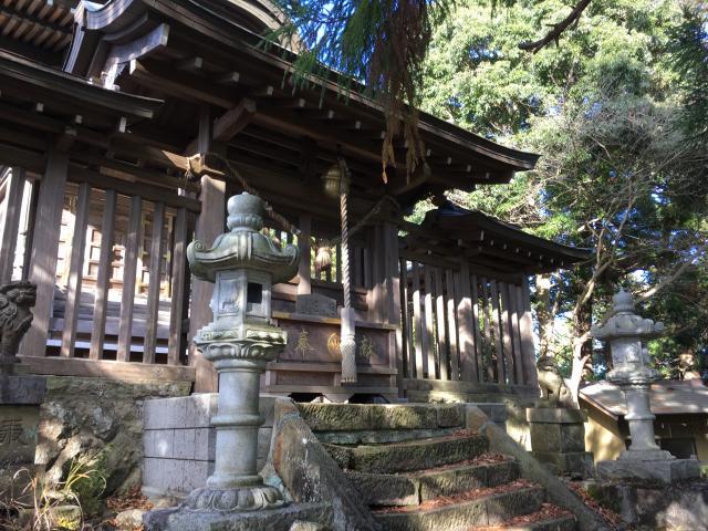 茨城県西金砂神社の本殿