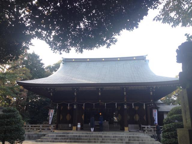 東京都喜多見氷川神社の本殿