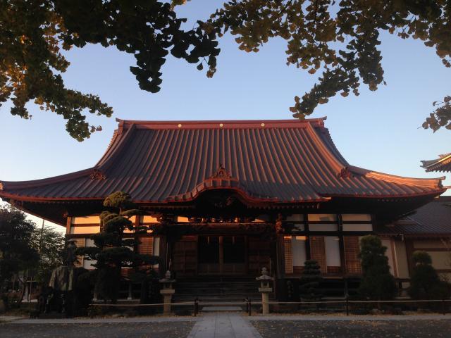 神奈川県長念寺の本殿
