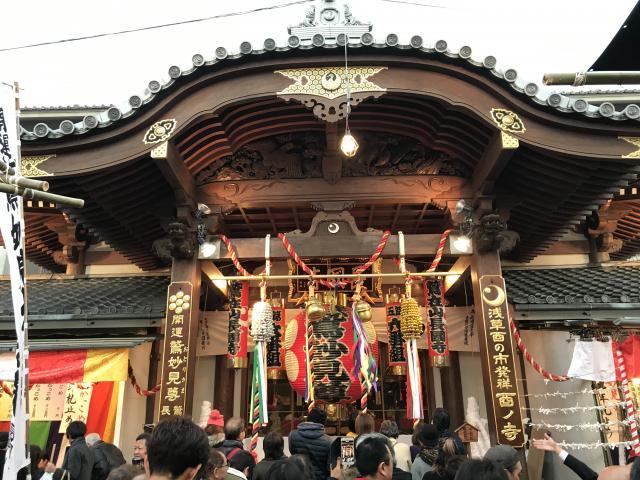 東京都長國寺の本殿