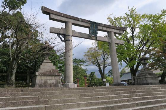 京都府豊国神社の本殿