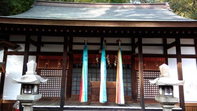 五社神社の本殿