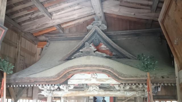 三柱神社(栃木県富田駅) - 本殿・本堂の写真