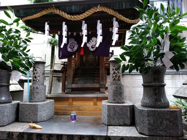 新世界稲荷神社(大阪府恵美須町駅) - 本殿・本堂の写真