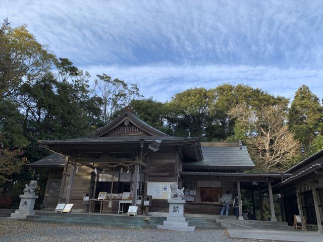 阿波々神社の本殿