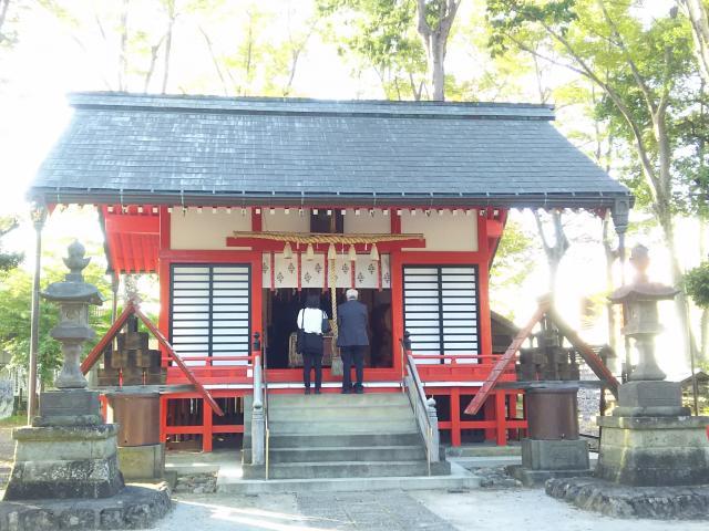 諏訪八幡神社(埼玉県飯能駅) - 本殿・本堂の写真