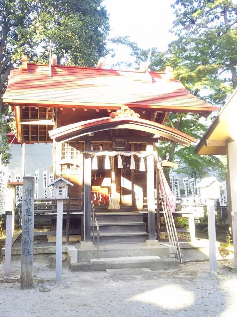 埼玉県諏訪八幡神社の本殿