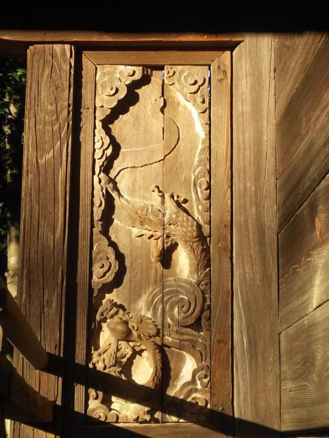 諏訪八幡神社(埼玉県飯能駅) - 芸術の写真