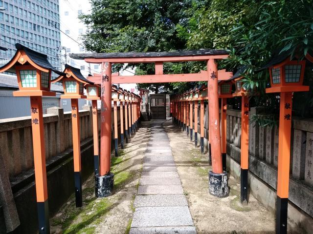 廣田神社(大阪府今宮戎駅) - 鳥居の写真