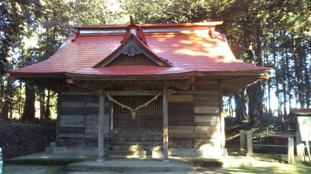小坂神社の本殿