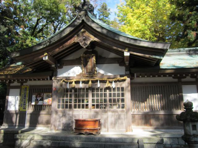 足助神社の本殿