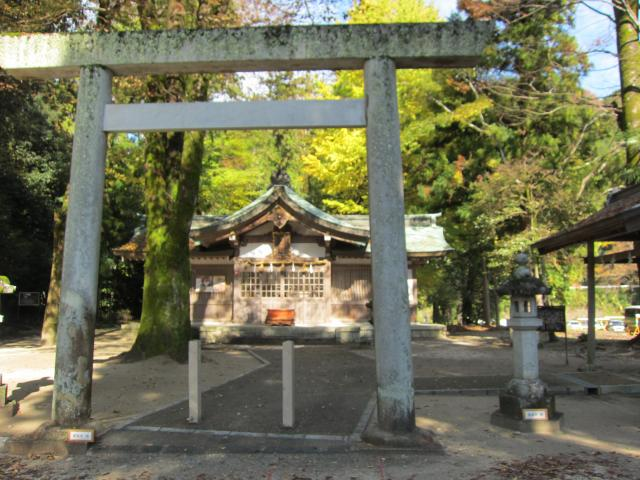 足助神社の鳥居