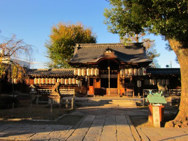 京都府縣神社の本殿
